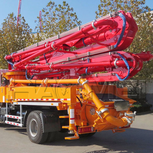 HDT5401THB-45/5 concrete boom pump truck for sale price