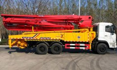 Solution to rotating failure of concrete pump truck arm